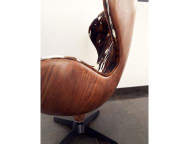 Le fauteuil Mooh vue de coté