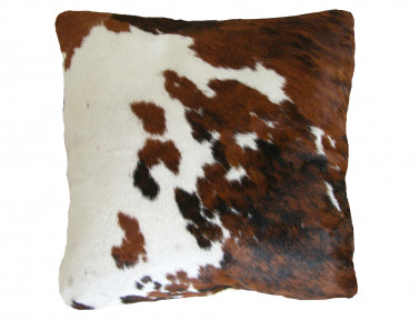Cushion made of Norman cowhide DOUBLE FACE