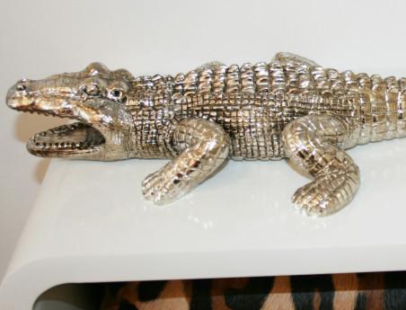 Crocodile métallisé