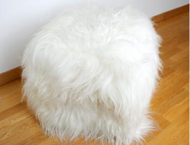 Pouf en mouton Islandais