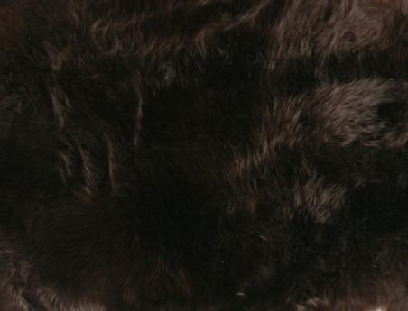 Peau de mouton teintée