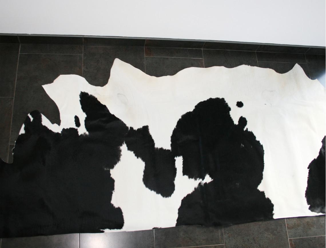 Demi-peau de vache Normande claire pour tapisserie