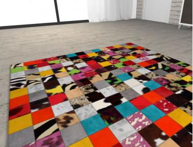 Configurateur de tapis sur mesure multicolore (avec visualisation en 3D)