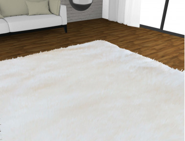 Customized sheepskin rug (with 3D visualization)