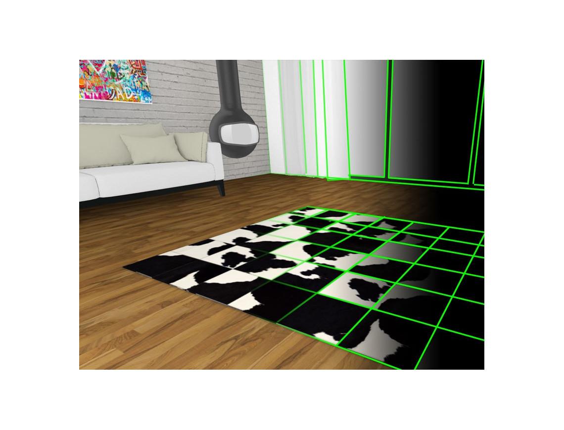 Configurateur de tapis patchwork sur mesure (avec visualisation en 3D)