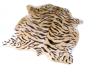 Cowhide printed pattern Tiger