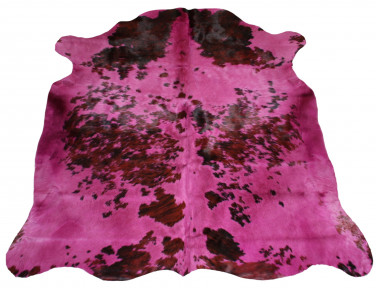 Natural cowhide tinted pink parma