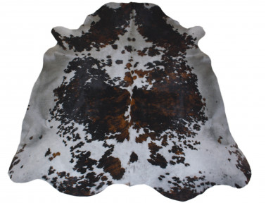 Cowhide natural tinted gray