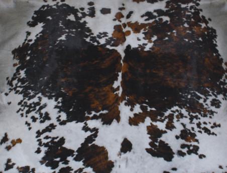 Peau de vache Naturelle teintée gris