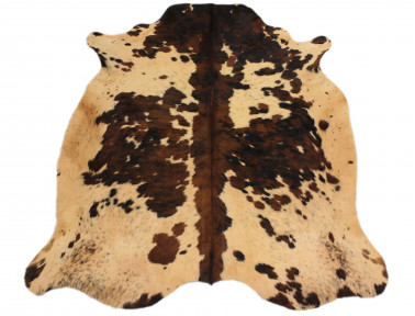Cowhide natural tinted beige