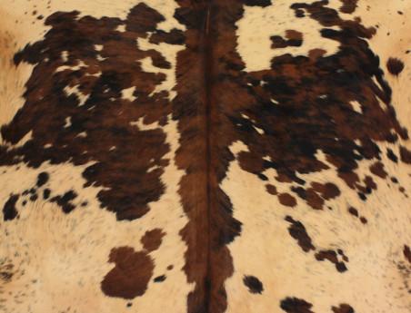 Peau de vache Naturelle teintée beige