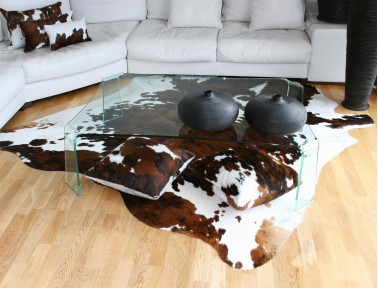 Clear Norman cowhide