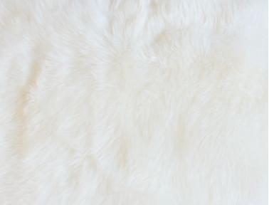 Peau de mouton couleur naturelle