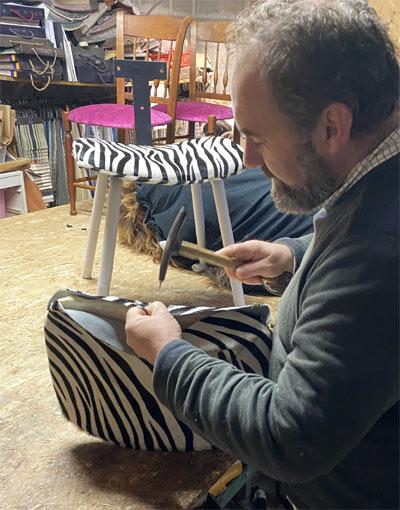 Fabrication d'une chaise PomPon