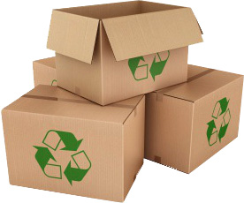 Cartons recyclés