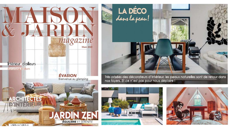 Maison & Jardin : La déco dans la peau